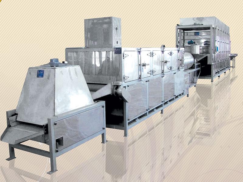 دستگاه خشک کن آجیل و خشکبار در انواع مختلف