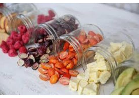 دستگاه خشک کن میوه با ظرفیت های ۲۰ کیلو گرم