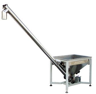 دستگاه بالابر پودری (اوگر حلزونی و یا بالابر ماردون) یکی از ماشین آلات این خط بوده